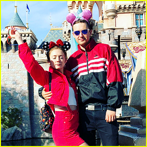 Billie Lourd Goes to Disney With Her Ex BF Austen Rydell!