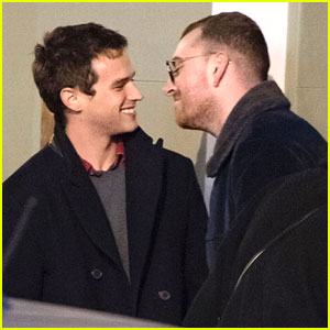 Brandon Flynn & Sam Smith Look So In Love While Out Together