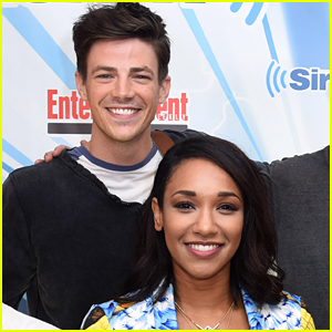 Candice Patton Tickled Grant Gustin During Their 'Flash' Chemistry Test