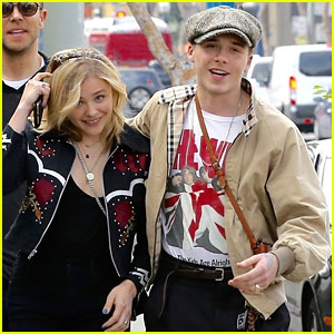 Chloe Moretz Goes Out For a Birthday Brunch with Brooklyn Beckham