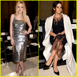 Dakota Fanning & Maren Morris Join Forces at Oscar De La Renta NYFW Show