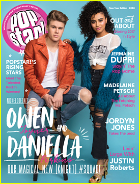 Knight Squad's Daniella Perkins & Owen Joyner Dish on Their Characters for 'Popstar!'