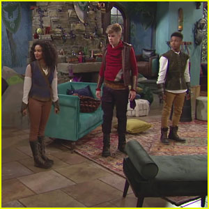 Daniella Perkins & Owen Joyner Share Sneak Peek at 'Knight Squad' - Watch!