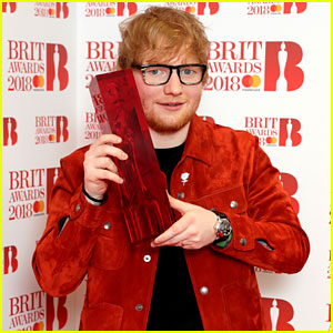 Ed Sheeran Wins Global Success Award, Performs 'Supermarket Flowers' at Brit Awards 2018 (Videos)