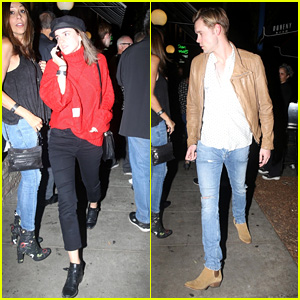 Emma Watson & Chord Overstreet Went to See Nathaniel Rateliff & The Night Sweats in Concert!