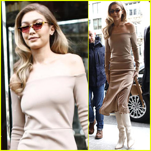 Gigi Hadid Steps Out in Style in Paris!