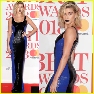 Hailey Baldwin Gets Edgy at Brit Awards 2018!
