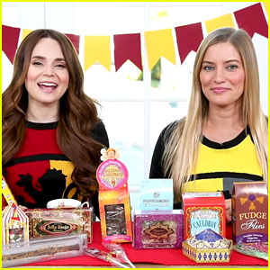 iJustine Tries Harry Potter Candy with Rosanna Pansino, Still Hasn't Seen Any of the Movies
