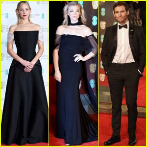 Jennifer Lawrence Reunites With 'Hunger Games' Cast at BAFTAs 2018!