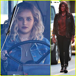 Katherine Langford Gets Covered in Blood for 'Spontaneous'