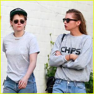 Kristen Stewart Joins Girlfriend Stella Maxwell at the Spa