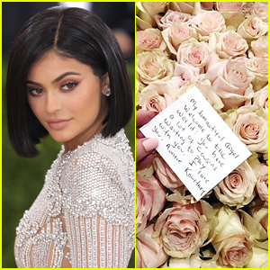 Kylie Jenner Gifted With Tons of Flowers After Welcoming First Child