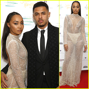 Little Mix's Leigh-Anne Pinnock Goes Sheer For Nailing Mental Health Valentines Ball 2018