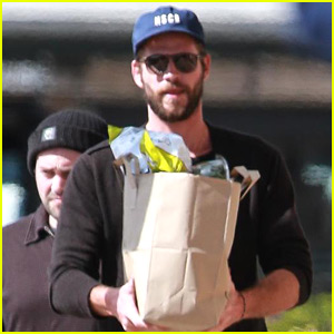 Liam Hemsworth Spends the Day Running Errands in Malibu