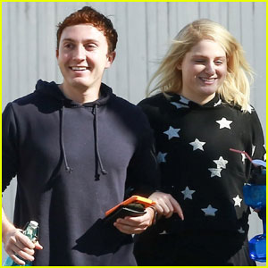 Meghan Trainor & Fiance Daryl Sabara Have a Pre-Valentine's Date!