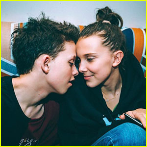 Millie Bobby Brown & Jacob Sartorius Share Valentine's Day Photos