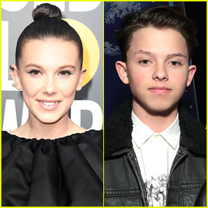 Millie Bobby Brown & Jacob Sartorius Huddle Close In Cute New Photo