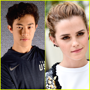 Figure Skater Nathan Chen Has a Huge Crush on Emma Watson