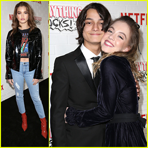 Paris Berelc Supports Rio Mangini at Netflix's 'Everything Sucks' NYC Premiere
