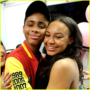 Nia Sioux Throws Boyfriend Bryce Xavier A Surprise Birthday Party