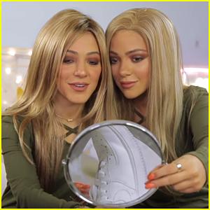 Niki & Gabi Transform Into Identical Twins in New Vlog - Watch!