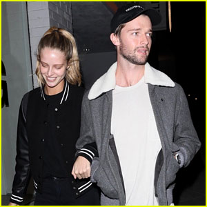 Patrick Schwarzenegger & Abby Champion Link Arms While Out in WeHo