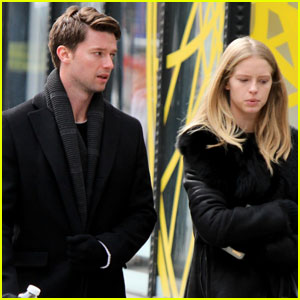 Patrick Schwarzenegger & Girlfriend Abby Champion Couple Up For NYC Brunch!