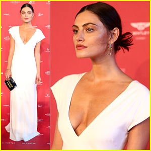 Phoebe Tonkin Steps Out at Sydney's MAAS Ball 2018