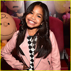 Raven's Home's Navia Robinson Shares Adorable Throwback Modeling Pic