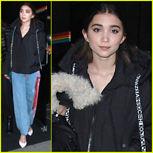 Rowan Blanchard Opens Up About How She Constantly Struggles With Self Confidence