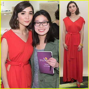 Rowan Blanchard Talks Her New Book 'Still Here': 'It's A Shrine To Your Early Teen Years'
