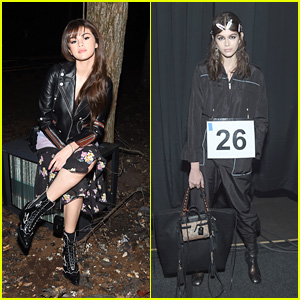 Selena Gomez & Kaia Gerber Look Chic at Coach's NYFW Fashion Show!