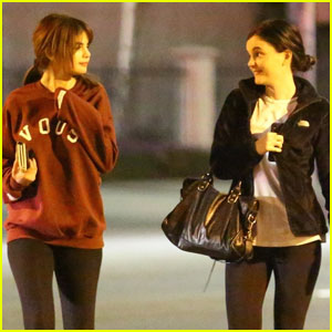 Selena Gomez Joins a Gal Pal For Dinner!