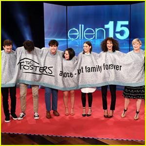 Maia Mitchell, Cierra Ramirez & 'The Fosters' Cast Make 'Ellen' Debut Next Week!