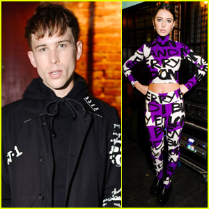 Tommy Dorfman Joins Iris Law at Last Magazine Anniversary Party!