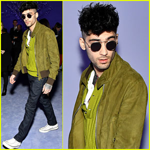 Zayn Malik Looks Way Too Cool at Tom Ford Fashion Show
