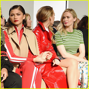Zendaya Wasn't Giving Blake Lively & Emily Blunt Side-Eye At All During NYFW