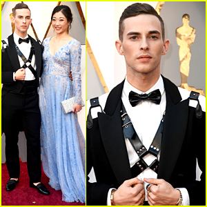 Adam Rippon & Mirai Nagasu Attend the Oscars Together!