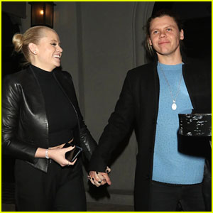 Alli Simpson & Boyfriend Conrad Sewell Hold Hands For Date Night