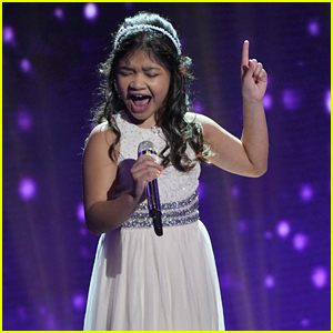 AGT's Angelica Hale Belts Out 'I'll Be There' on 'Little Big Shots' - Watch Now!