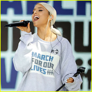 Ariana Grande Returns to the Stage at March for Our Lives - Watch Now!