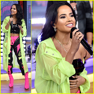 Becky G Brings 'Mad Love' To GMA With Sean Paul & David Guetta