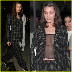 Bella Hadid Looks So Chic During a Night Out!