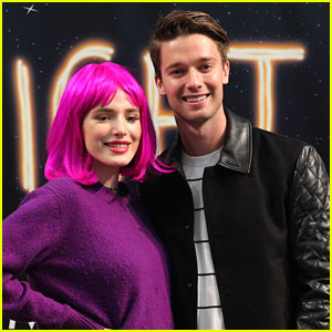 Bella Thorne Channels Miranda Sings at 'Midnight Sun' Event with Patrick Schwarzenegger