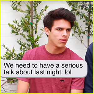 Brent Rivera Reveals What Would Happen If People Talked How They Texted (Video)