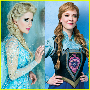 See the 'Frozen' on Broadway Cast in Costume!