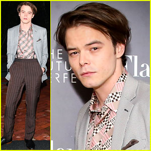 Charlie Heaton Is the Man of the Hour at Fendi Event!