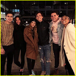 Ross Lynch & 'Chilling Adventures of Sabrina' Cast Meet The 'Riverdale' Cast!