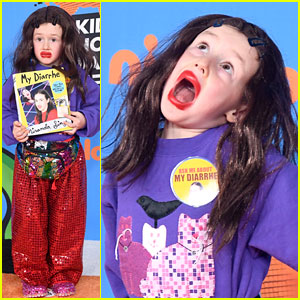Colleen Ballinger's Nephew Dresses as Miranda Sings at KCAs 2018!