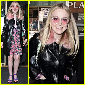 Dakota Fanning Talks About Juggling College with Her Film Career